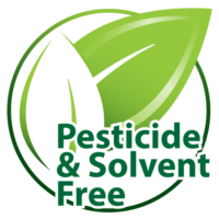 Pesticide Free and Solvent Free